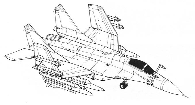 общий вид общий вид МИГ-29K