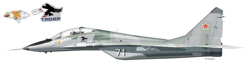 Миг-29УБ борт 71 Миг-29