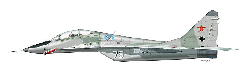 Миг-29 борт 47 Миг-29УБ борт